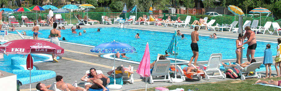 Fun pools at Balatonlelle